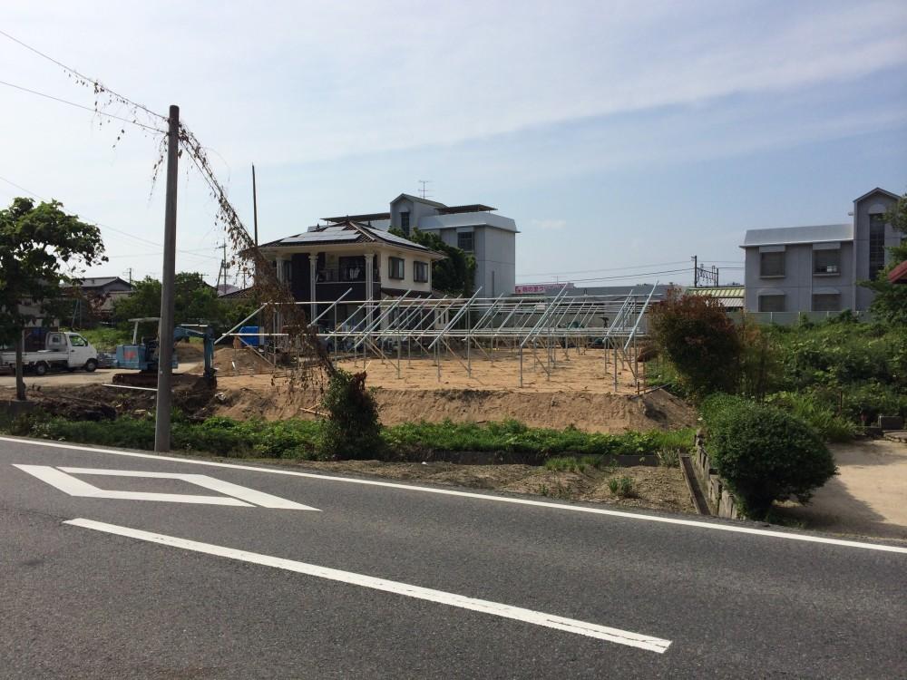 SPI大崎1号発電所(架台設置工事)