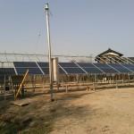SPI太陽光4号発電所にRundaPV製250W太陽光パネルの取付を開始!