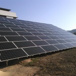 SPI太陽光3号発電所、RindaPV製多結晶太陽光パネル取り付け完了(1)