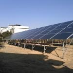 SPI太陽光4号発電所、RundaPV製250W太陽光パネル取付完了(3)