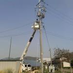 只今、SPI太陽光2~4号発電所の連携作業中(2)
