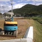 SPI太陽光第7号発電所(グランドスクリュー工法による基礎工事)(3)