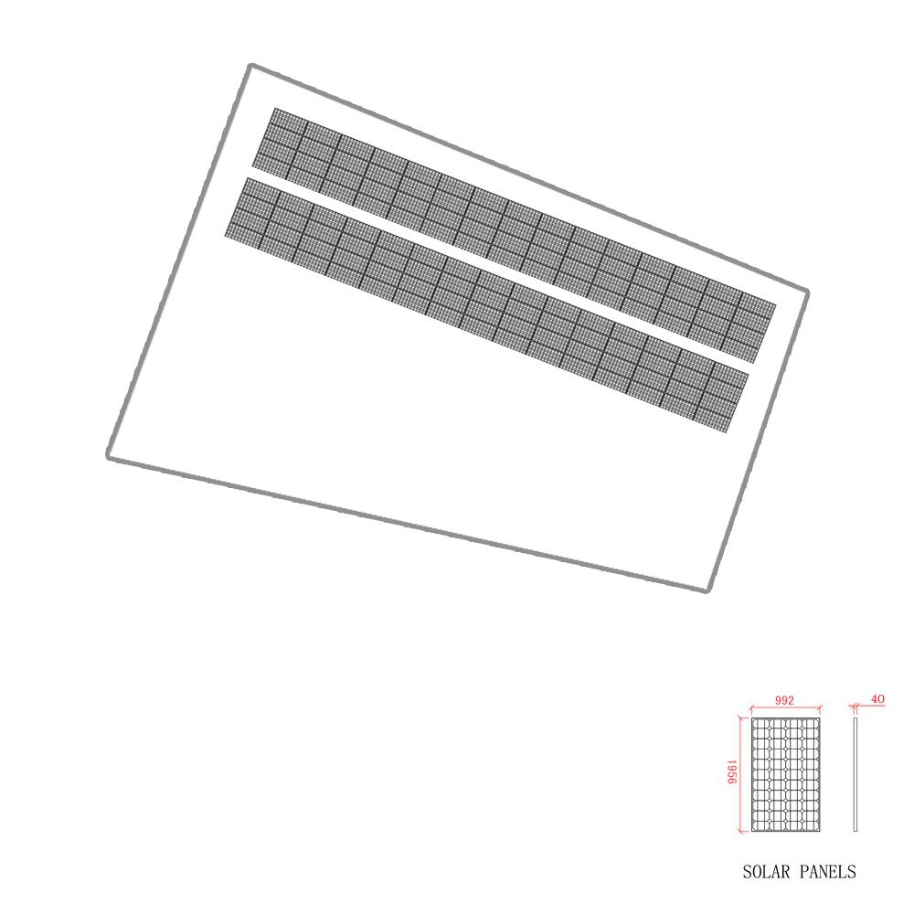 SPI太陽光第10号発電所レーアウト図