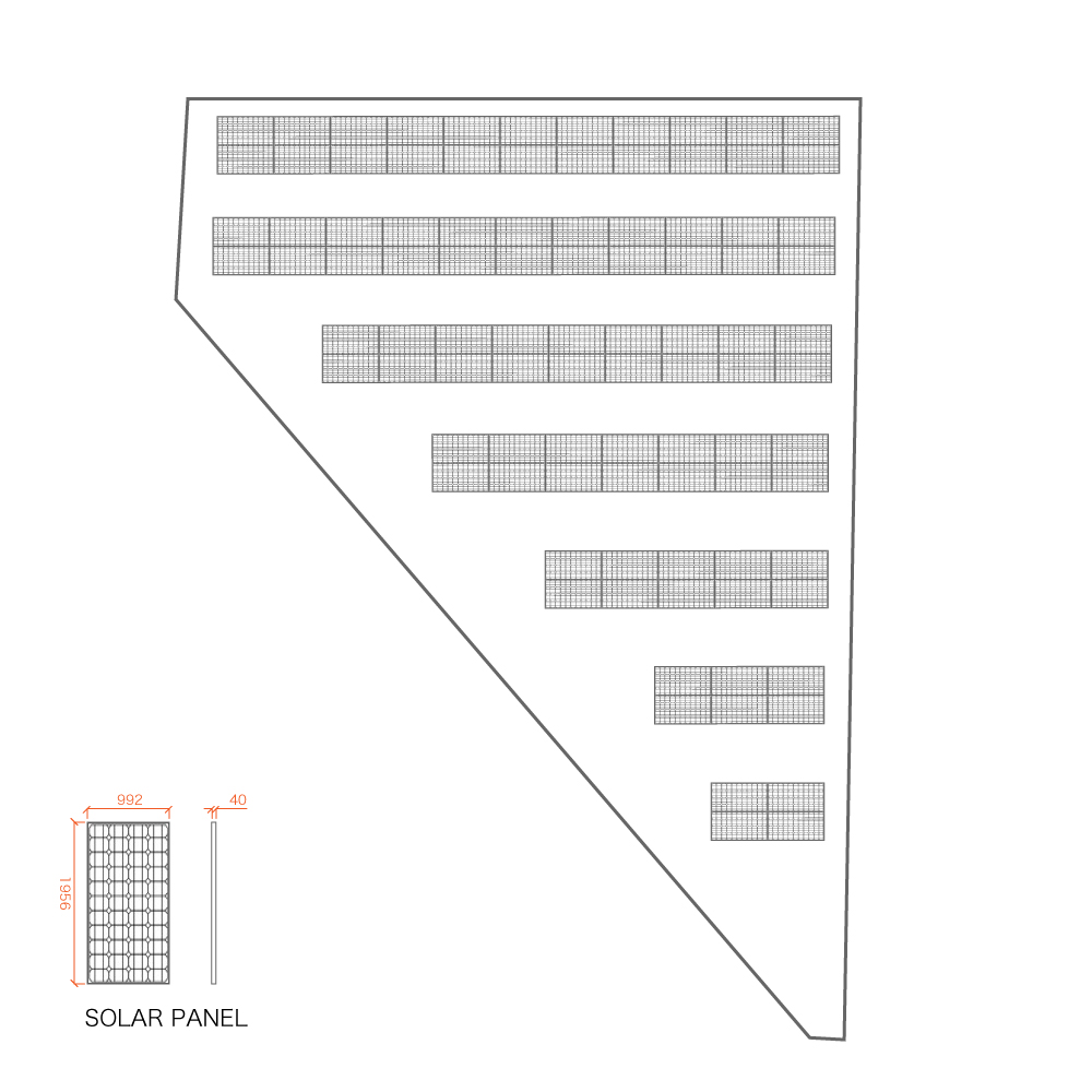 SPI14号発電所レイアウト図
