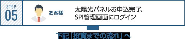 STEP05 SPI管理画面にログイン